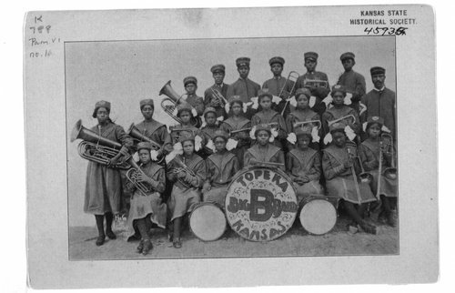 The Big B Girls Band, Topeka, Kansas - Page