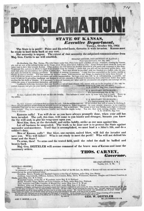 Proclamation!  The state is in peril! - Page