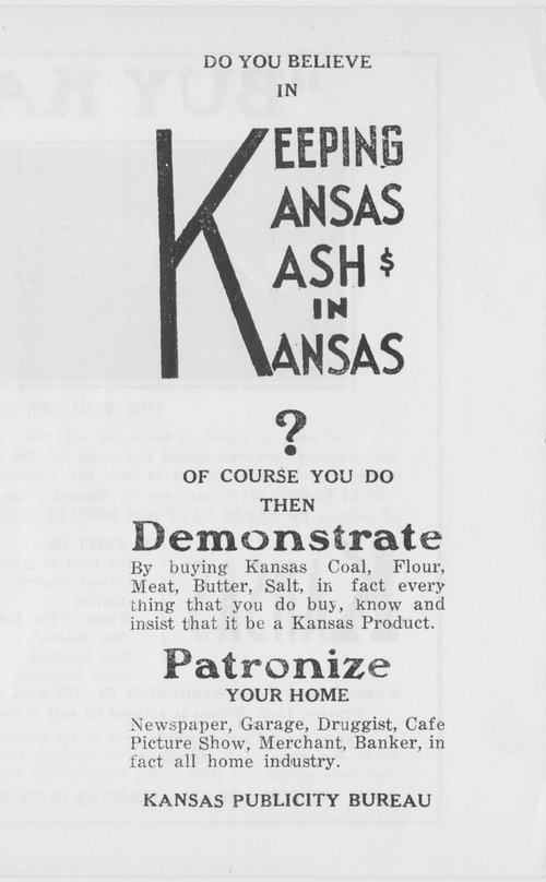 Do you believe in keeping Kansas kash in Kansas? - Page