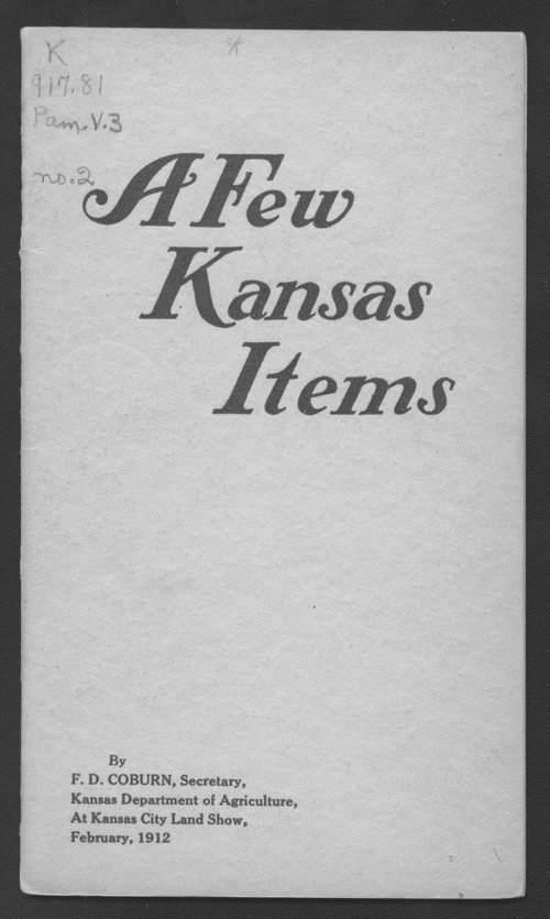 A few Kansas items - Page