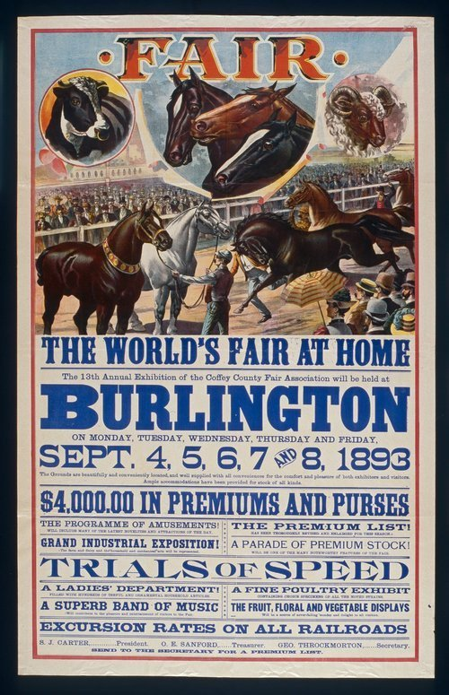 The World's Fair at home, Burlington, Kansas - Page