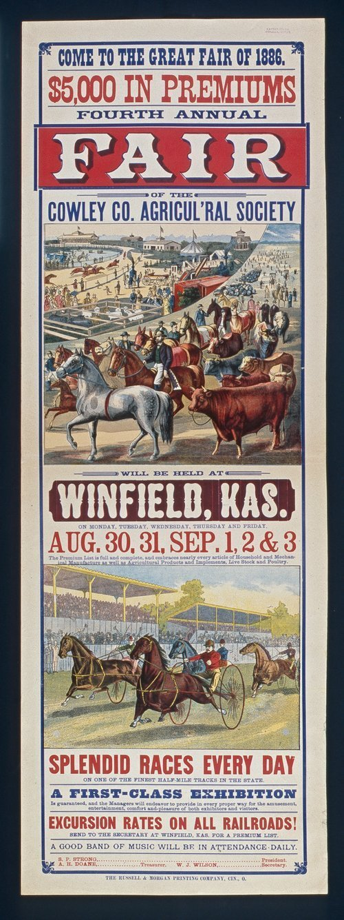 Fourth annual fair, Winfield, Kansas - Page