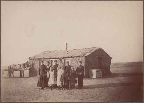Sod schoolhouse, Thomas County, Kansas - Page