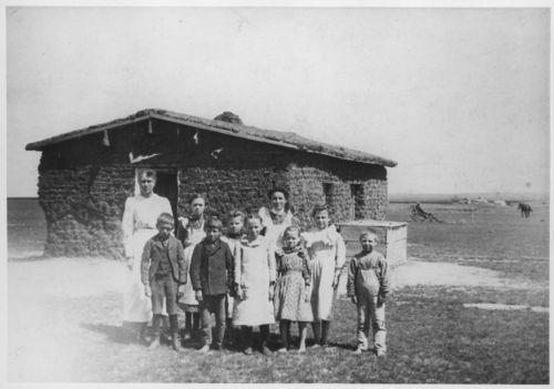 Sod schoolhouse, Thomas County, Kansas - Page