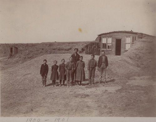 Dugout schoolhouse, Thomas County, Kansas - Page