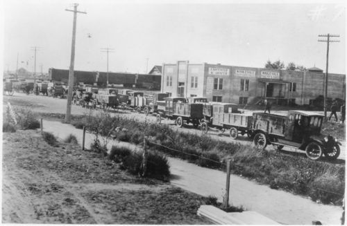 Farm trucks, Colby, Kansas - Page
