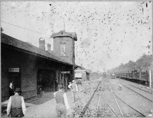 Atchison, Topeka & Santa Fe Railway Company depot, Holliday, Kansas - Page