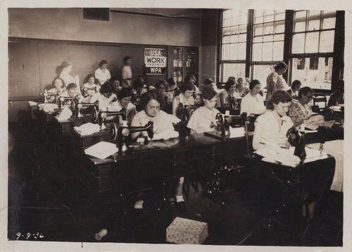 Sewing class, Topeka, Kansas - Page