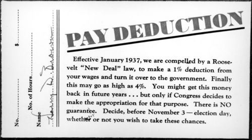 Pay deduction - Page
