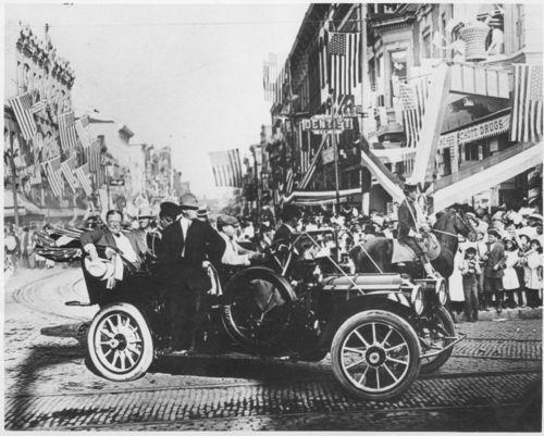 President William Howard Taft, Leavenworth, Kansas - Page