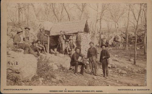 Boomer Camp on Walnut River, Arkansas City, Kansas - Page