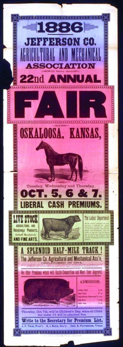 Jefferson County twenty-second annual fair, Oskaloosa, Kansas - Page
