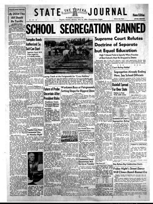School segregation banned - Page