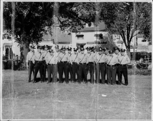 Vern Miller and Sedgwick County traffic control officers, Wichita, Kansas