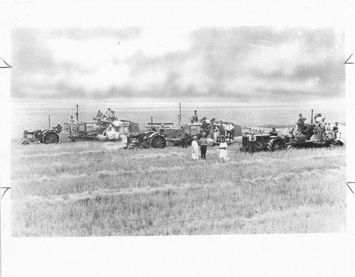 Harvest scene, Finney County, Kansas - Page