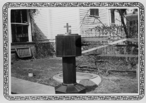 Baptismal fount, Topeka, Kansas - Page