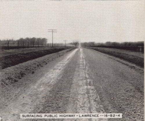 Surfacing a public highway, Lawrence, Kansas - Page