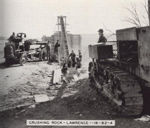Crushing rock, Lawrence, Kansas - Page