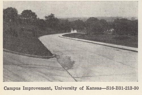 Campus improvement at the University of Kansas, Lawrence, Kansas - Page