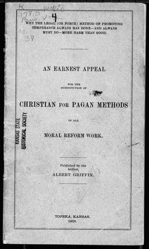 An earnest appeal for the subsitution of Christian for Pagan methods - Page