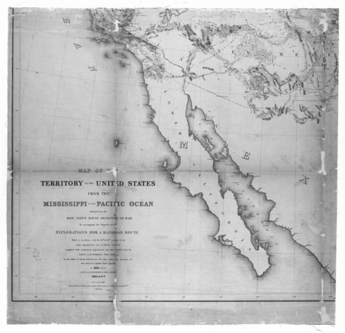 Map of the Territory of the United States from the Mississippi to the Pacific Ocean - Page
