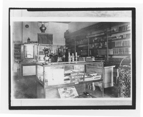Drug store interior, De Soto, Kansas - Page