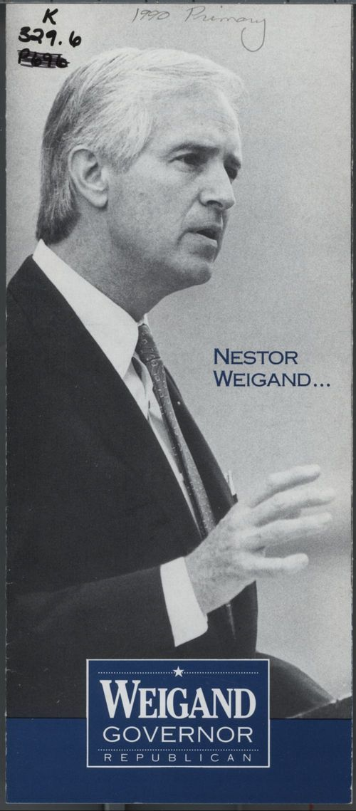 Nestor Weigand. A governor to make Kansans proud again - Page