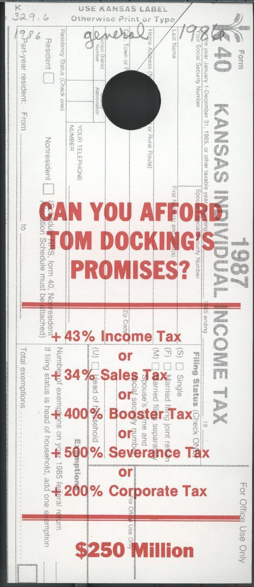 Can you afford Tom Docking's promises? - Page