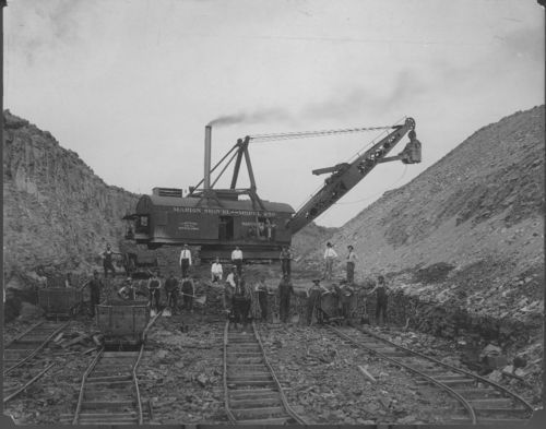 Open pit mining, Pittsburg, Kansas - Page