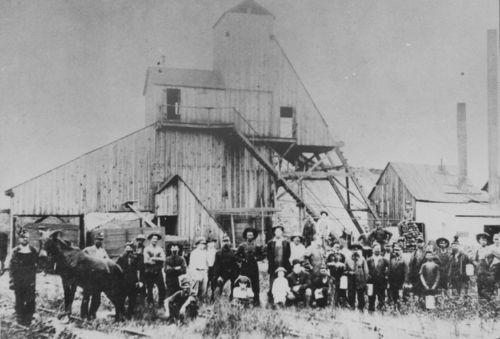 Shaft mine 6, Crowe Coal Company, Crawford County, Kansas - Page