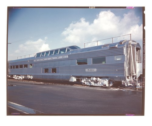 Atchison, Topeka & Santa Fe  Pleasure Dome Lounge Car - Page