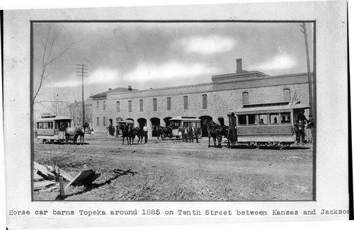 Horse car barns - Page