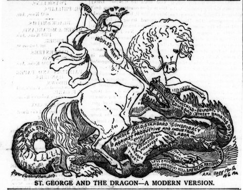 St. George and the Dragon--a modern version - Page
