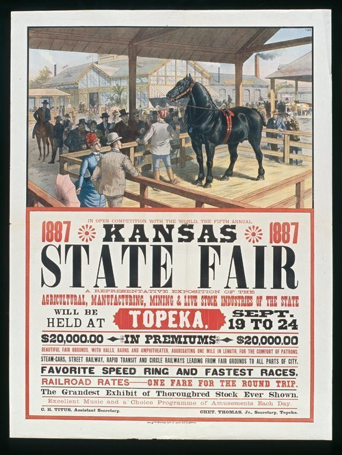 The fifth annual Kansas State Fair - Page