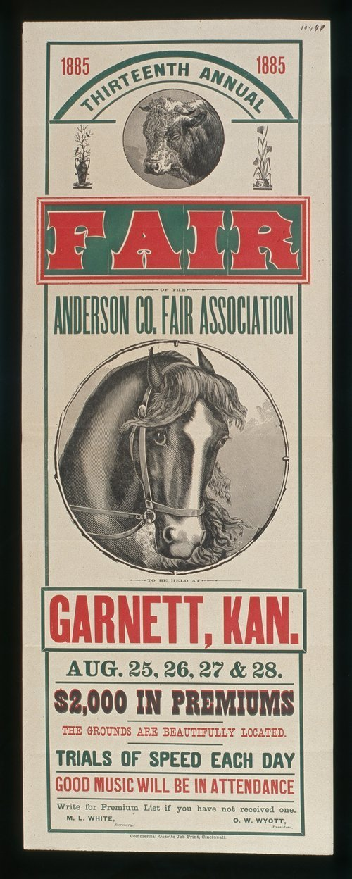 Thirteenth annual fair of the Anderson County Fair Association - Page