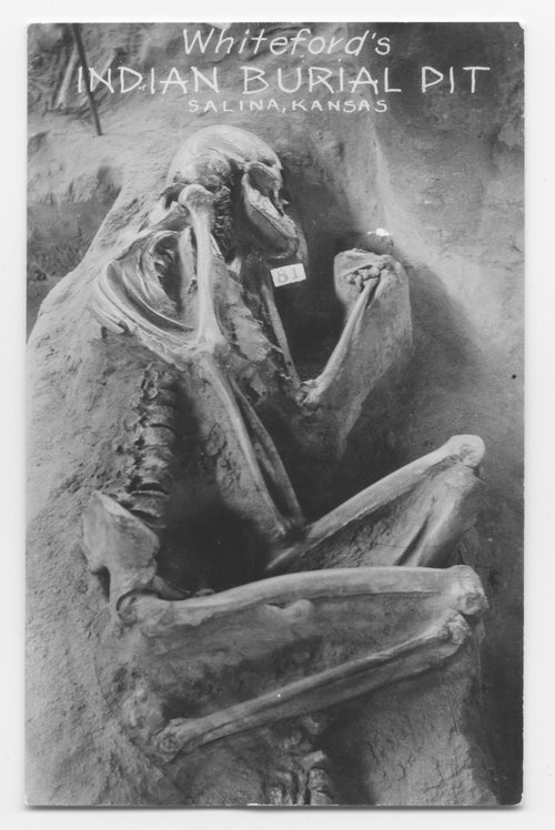 Whiteford's Indian burial pit, Saline County, Kansas - Page