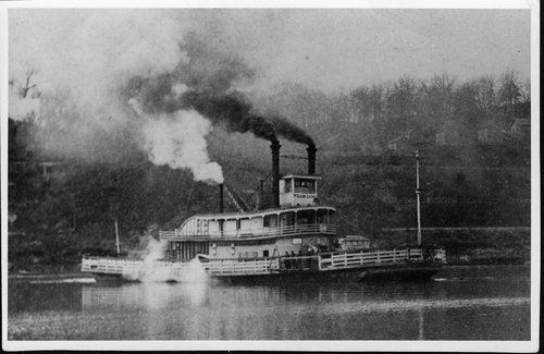 Willie Cade, a Missouri River steam ferry - Page