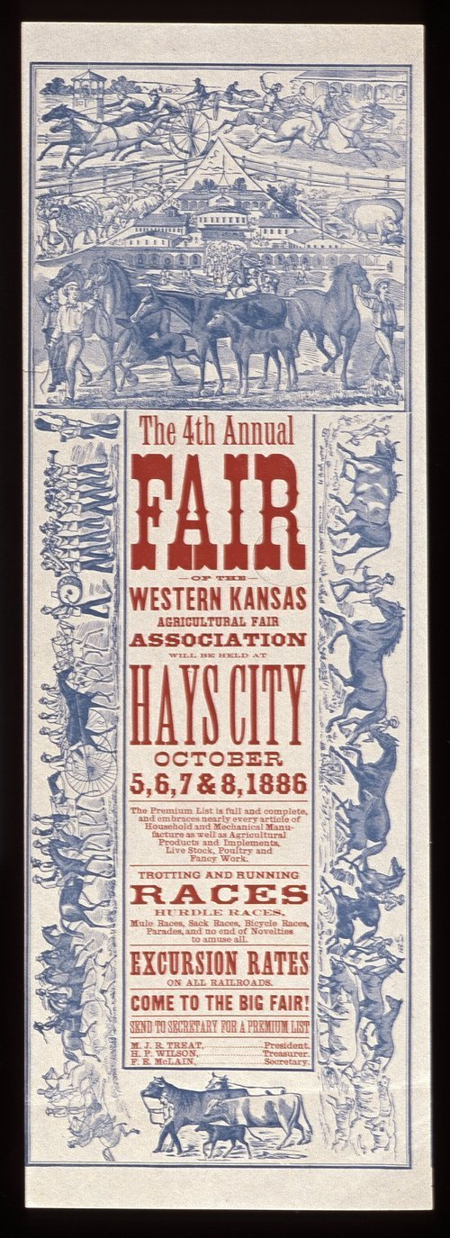 The fourth annual fair of the Western Kansas Agricultural Association - Page