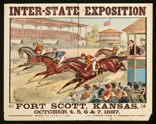 Inter-state exposition at Fort Scott, Kansas - Page