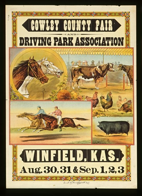 Cowley County Fair and Driving Park Association, Winfield, Kansas - Page