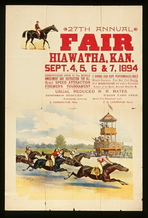 Twenty-seventh annual fair, Hiawatha, Kansas - Page