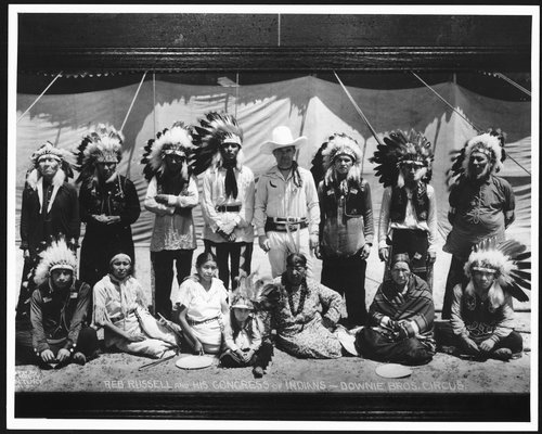 Reb Russell and the Downie Brothers Circus - Page