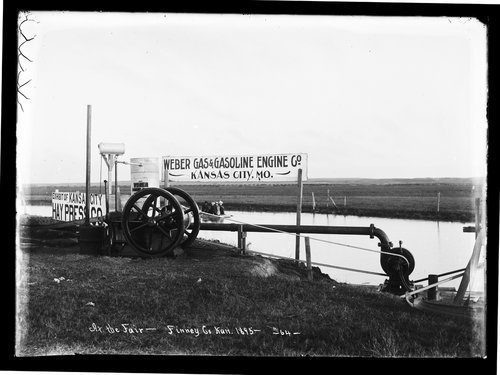 Machinery for Weber Gas & Gasoline Engine Co., fair, Finney County, Kansas - Page