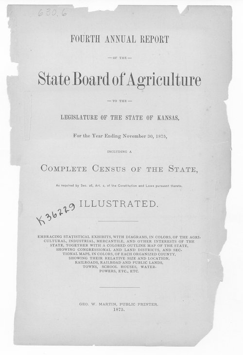 Transactions of the Kansas State Board of Agriculture, 1875 - Page