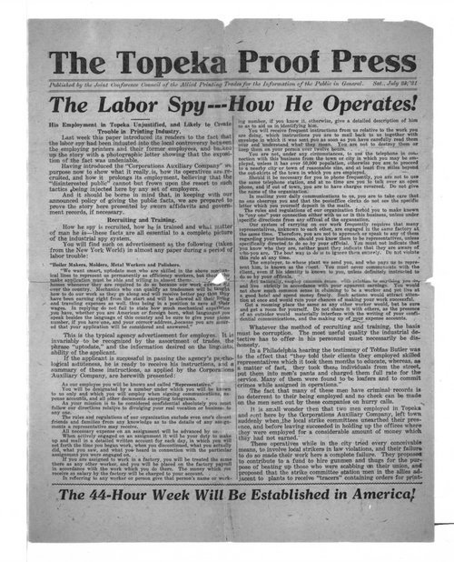 The Topeka Proof Press - Page