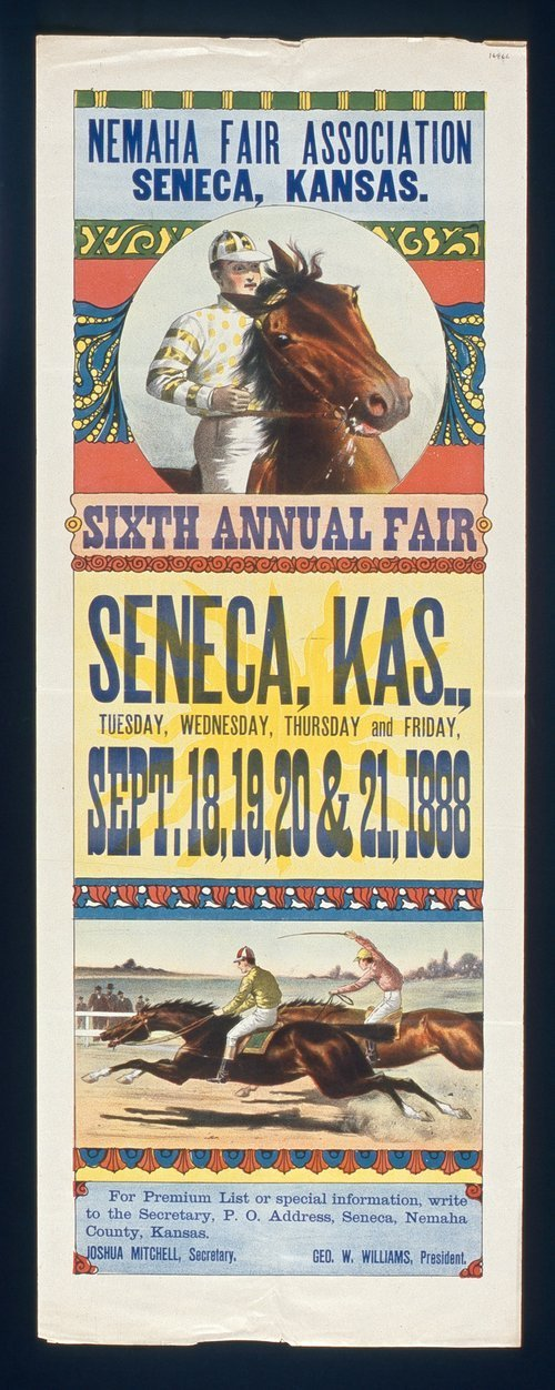 Sixth annual fair, Seneca, Kansas - Page
