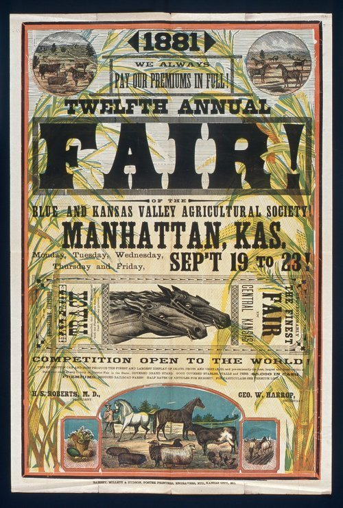 Twelfth annual fair, Manhattan, Kansas - Page