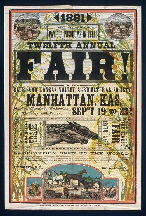 Twelfth annual fair, Manhattan, Kansas - Page