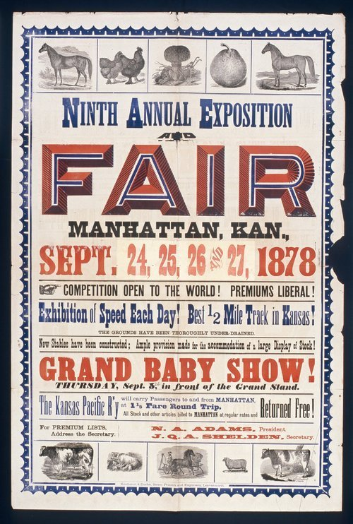 Ninth annual exposition and fair, Manhattan, Kansas - Page