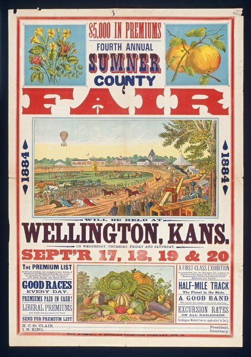 Fourth annual Sumner County fair, Wellington, Kansas - Page